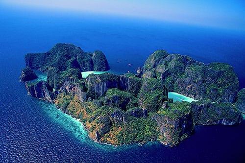 Koh Phi Phi en famille - maya bay - thailande