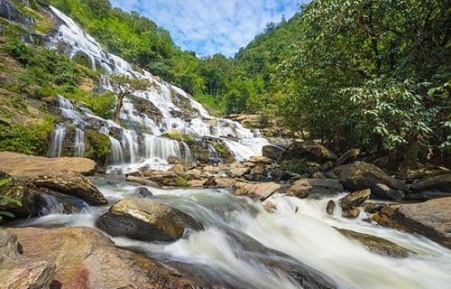 Chiang Mai en famille - activité - cascade - chute d