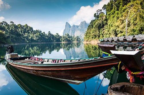 lac thailande - circuit thailande en famille