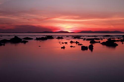 plage koh yao - coucher de soleil - la thailande avec des ados