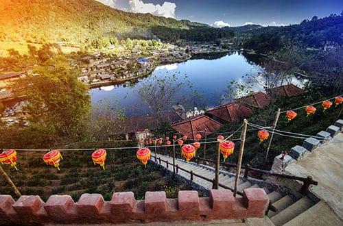 ban-rak-thai-village-a-chinese-settlement-in-pai-mae-hong-son-thailand
