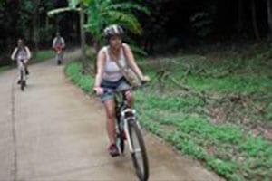 Que faire à koh chang avec des enfants - faire du vélo en thailande