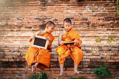 Ayutthaya avec des enfants - partir en thailande avec un ado