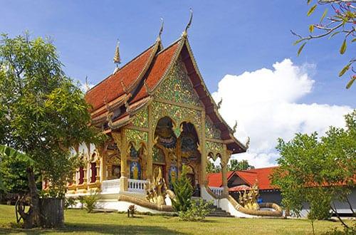 Pai - Nord de la Thailande avec des enfants - activité - temple -