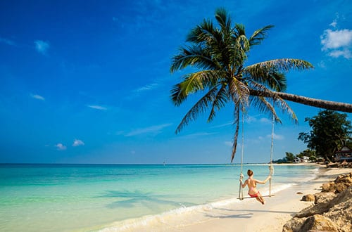 Koh Phangan en famille - Koh Phangan - thailande - plage - paradis