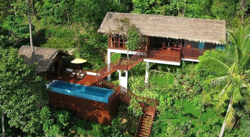 Koh Phi phi en famille - villa piscine - villa de luxe