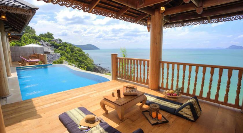 koh yao villa - piscine - vue magnifique - mer - thailande