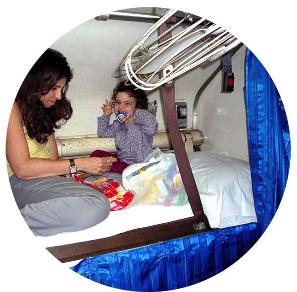 transports en Thaïlande avec un enfant
