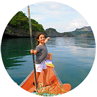 Thailande avec des enfants - bateaux - mer - sud thailande - ang thong - koh samui
