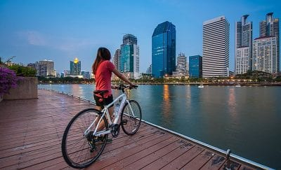 Bangkok avec un enfant