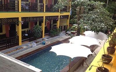 hotel pas cher khao lak - thailande avec des ados - hotel jardin piscine pas cher khao lak lak