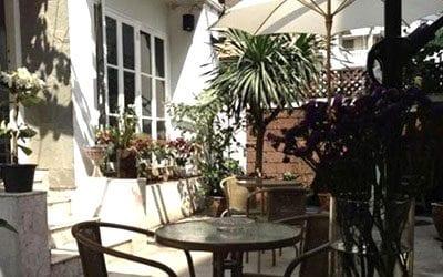 hotel pas cher bangkok - thailande avec des ados - hotel jardin exterieur bangkok