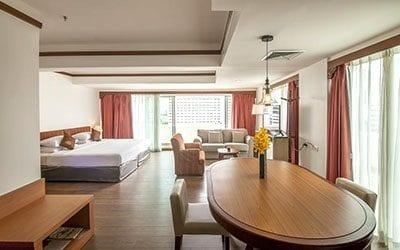 suite familiale bangkok - hotel pas cher bangkok - partir en thailande avec des ados