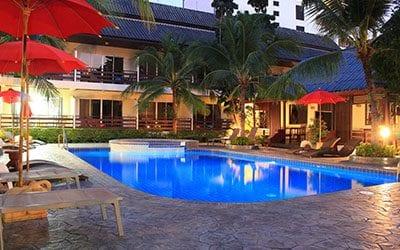 hotel PAS CHER pattaya -thailande pas cher avec des enfants - piscine