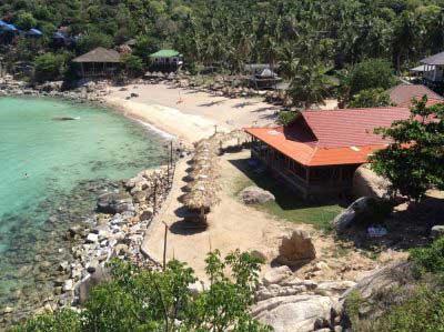 hôtel pas cher koh tao -plage paradisiaque - bon plan thailande