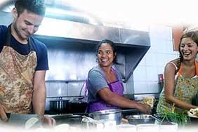 cours de cuisine thaï koh tao - la thailande en famille