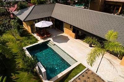 maison avec piscine koh lanta - thailande pas cher avec des enfants