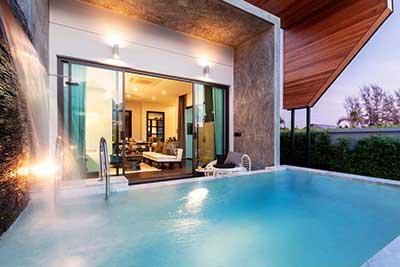 maison piscine PAS CHER phuket - thailande en famille