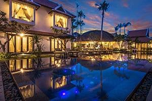 Voyage en famille au Cambodge - villa - maison -angkor - piscine