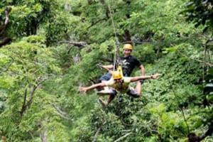 que faire à phuket - tyrolienne phuket - accrobranche jungle thailande - voyage famille thailande
