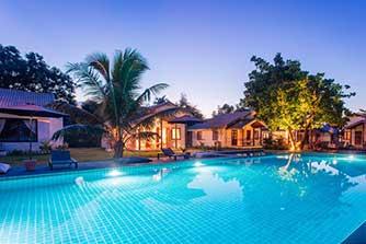koh phangan en famille - location villa piscine thailande