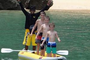 excursion phuket - activité phuket avec des enfants - bateau - mer thailande - famille