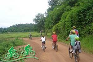 que faire à chiang rai - excursion vélo thailande