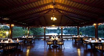 Kanchanaburi en famille - hotel de luxe piscine
