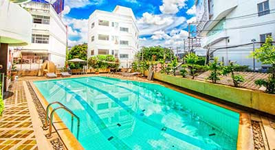 hotel piscine a chiang mai-piscine-residence-location-vacances