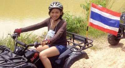 excursion sud thailande avec des ados - buggy thailande