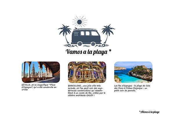 carnet de voyage Espagne - illustration