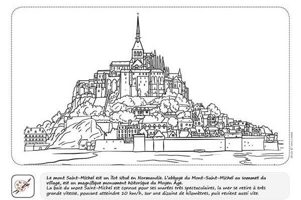 carnet de voyage france -enfant - coloriage-illustration